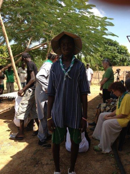 Mise en place d'un potager au Sénégal