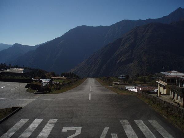 Village de Lukla - région du Khumbu au Népal