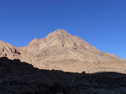 Le sommet du Mont Sinaï