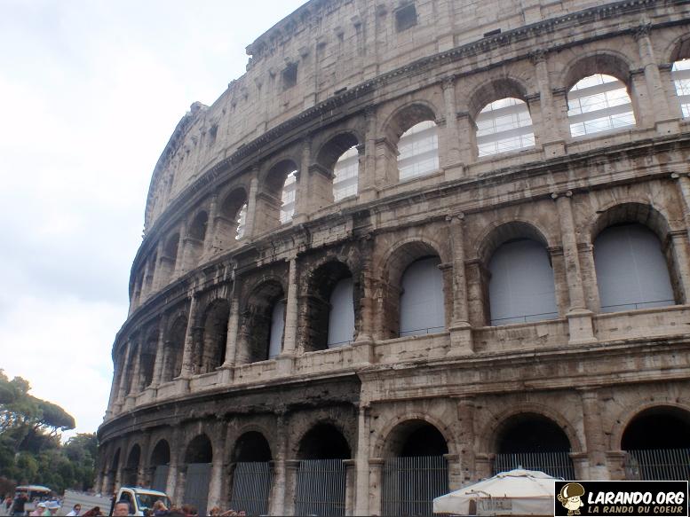 Trekking à Rome, Italie