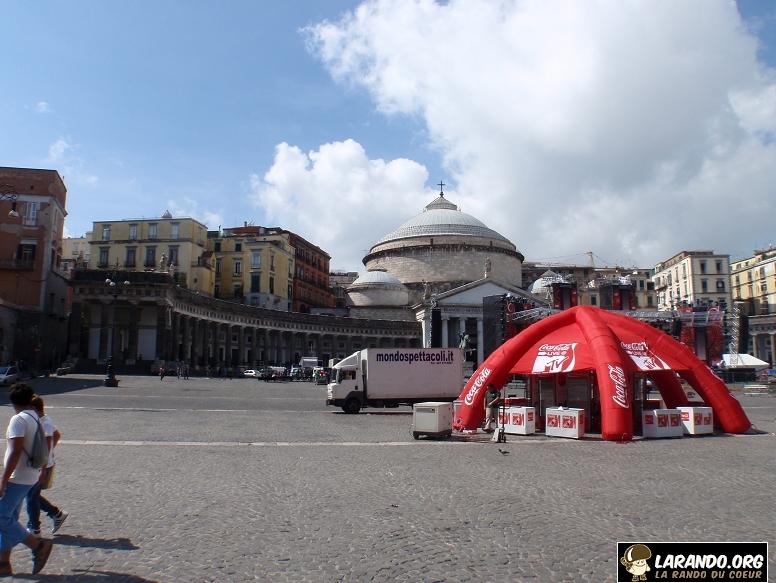 Trekking à Naples – Italie