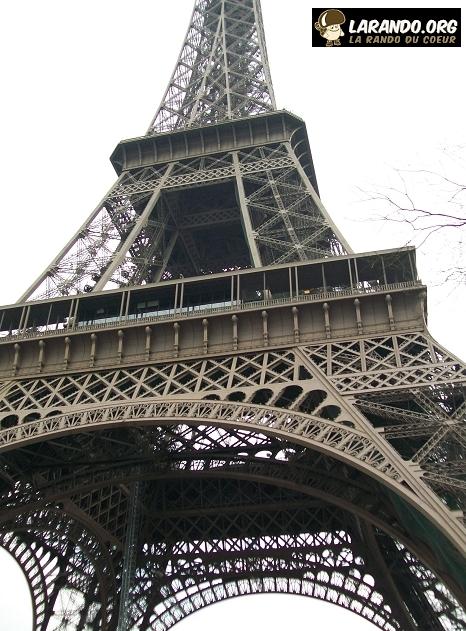 Trekking à Paris, France – photos