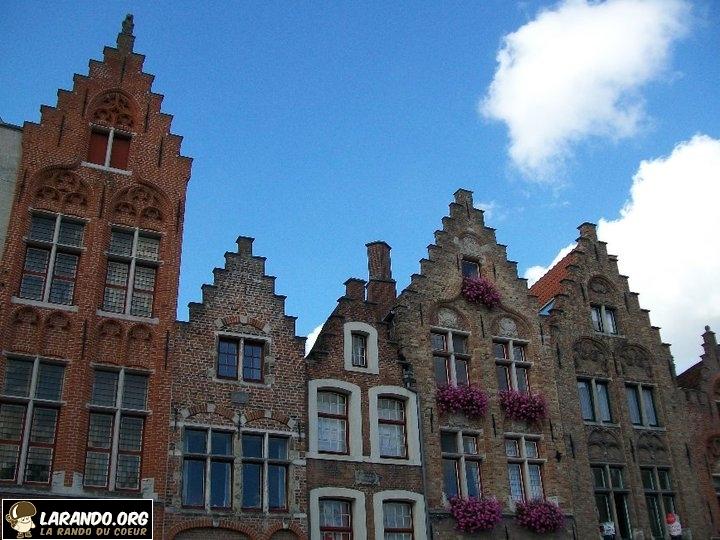 Rando citadine à Bruges, Belgique – photos