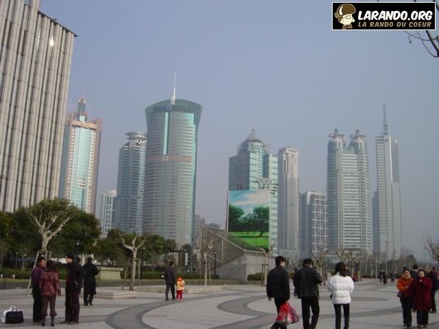 Trek à Shanghai, Chine – photos