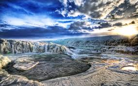 chutes d'eau gulfoss islande