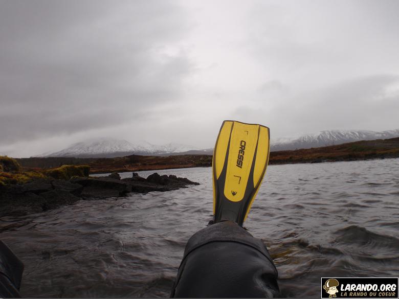 Plongée sous marine en Islande, photos