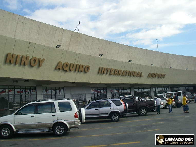 Aéroport de Manille aux Philippines – photos