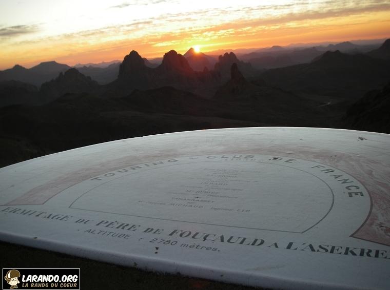 Photos sommet Assekrem (désert Algérie )