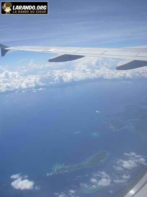 Photos des Philippines en avion