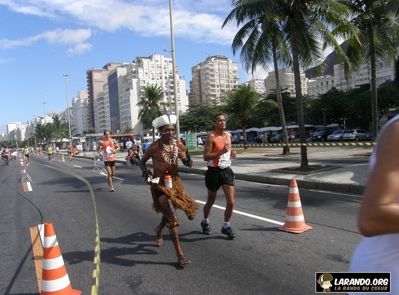 Course à pied à Rio de Janeiro – Brésil