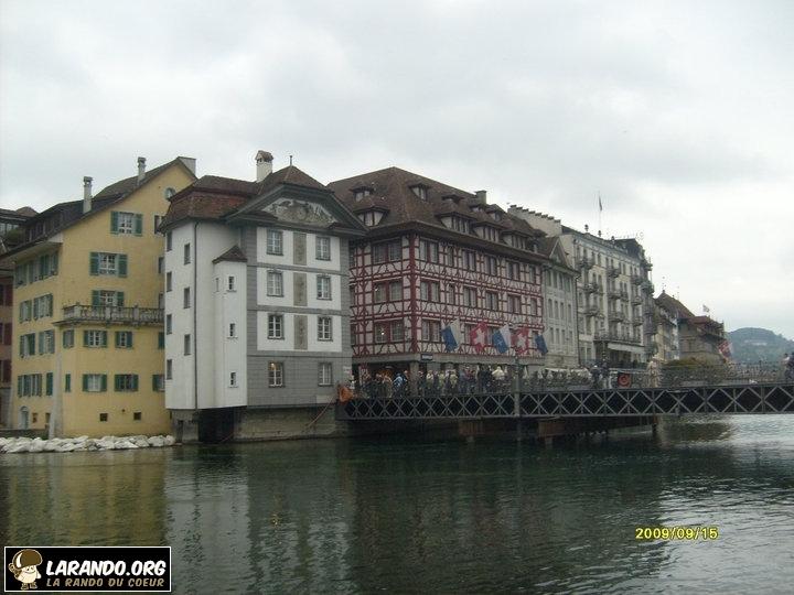 Trek à Lucerne, Suisse – photos