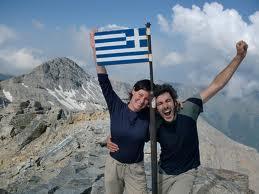 mùontagne grece randonnee