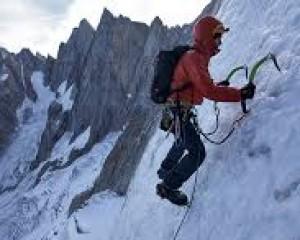 Alpinisme dans les Grandes Jorasses