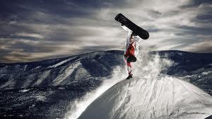 Snowboard alpe du grand serre