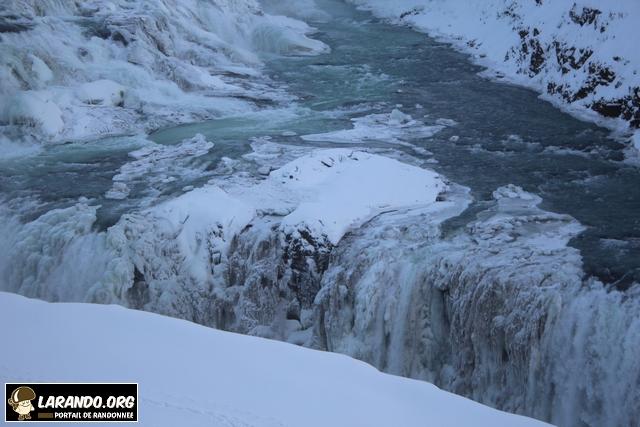 Trek à Gullfoss en Islande – photos