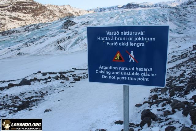 Rando glaciaire en Islande