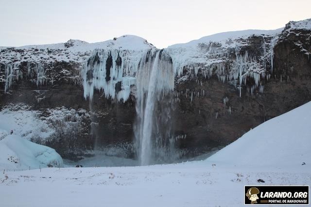 Cascades en Islande