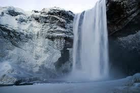 chute eau islande