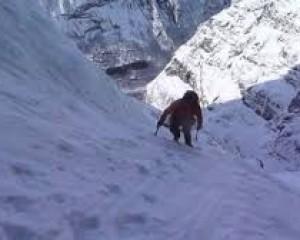 Escalade du Litldalen en Norvège