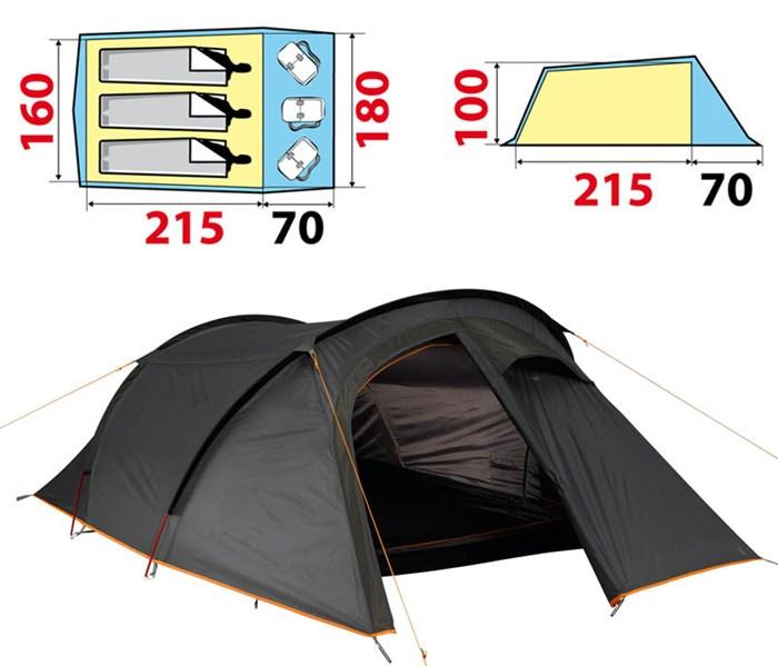 Tente decathlon 62 tente de camping familiale air seconds - Tente uv decathlon ...