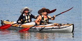 Des kayakistes au grand coeur