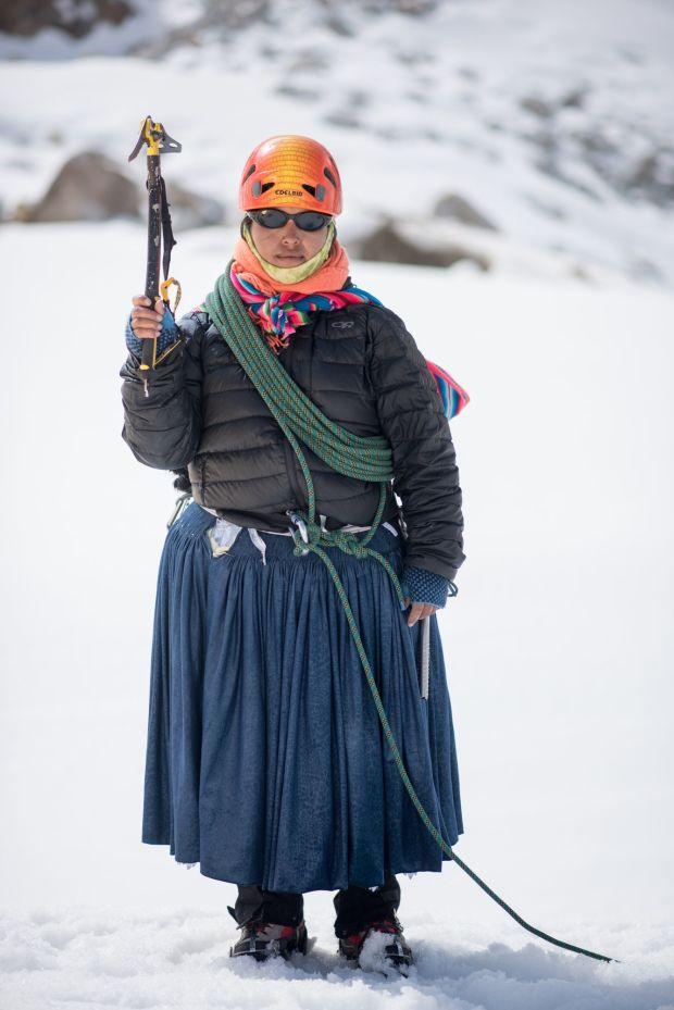 Bolivie: les femmes alpinistes Aymaras