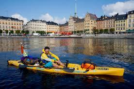 Stockholm en kayak