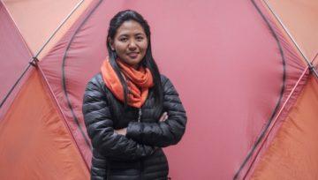 Dawa Yangzum Sherpa devient guide de haute montagne