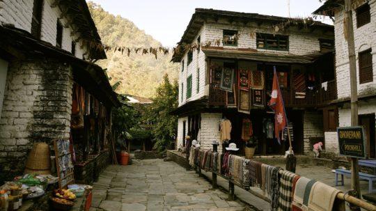 nepal-annapurnas