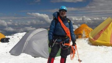 Entretien avec l'alpiniste Juan Alaña Llusco