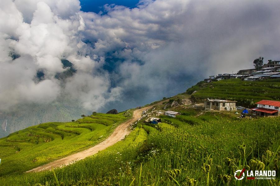 Trekking dans un village au Népal – photos