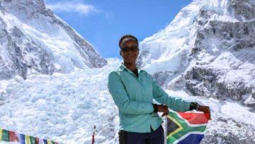 Everest : Saray Khumalo, première femme africaine noire au sommet