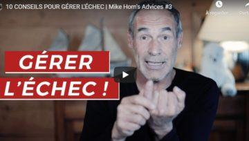 Comment gérer l'échec avec Mike Horn