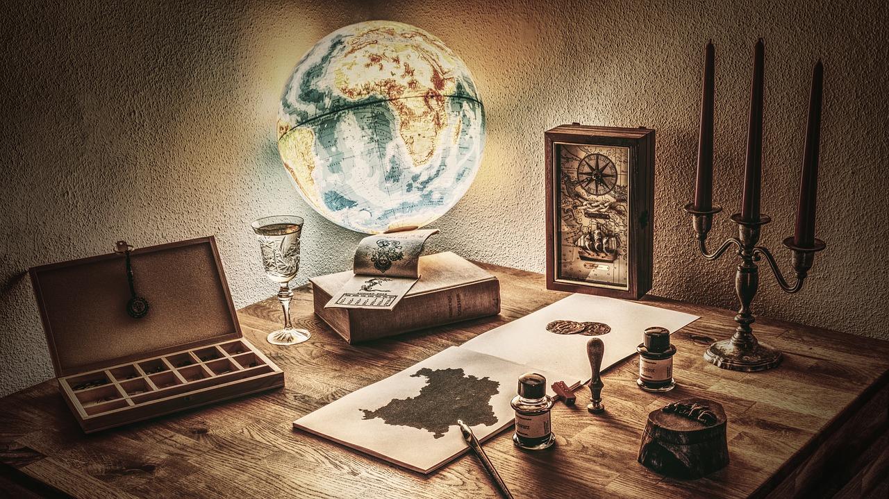 carte monde randonnee
